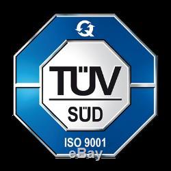 2x Amortisseurs avant + Support Haut pour Smart Fortwo Cabriolet 0.8 CDI 2009-