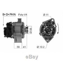 ALTERNATEUR SMART ROADSTER Coupe 0.7 (452.334) 60KW 82CV 04/200311/05 EB452Q V1