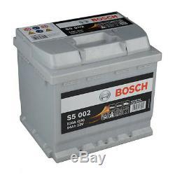 BOSCH S5 002 54Ah Premium Batterie de Véhicules Starter Battterie SILVER PLUS