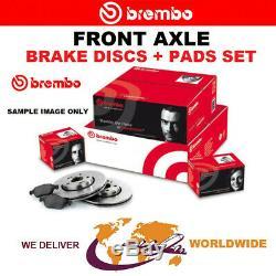 BREMBO Essieu Avant Disques de Frein + Plaquettes Pour Smart Fortwo Cabriolet