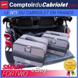 Bagagerie sur-mesure pour cabriolet Smart Fortwo 450