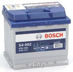 Bosch S4002 Batterie de Voiture 52A/h-470A CONKTYPES