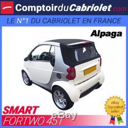 Capote Smart ForTwo 451 cabriolet en Alpaga Sonnenland A+