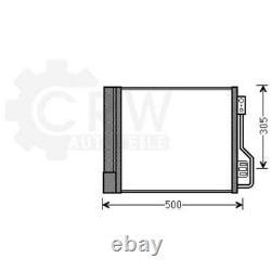 Condensateur Climatisation Condenseur à Air Smart Fortwo Cabriolet Coupé 451