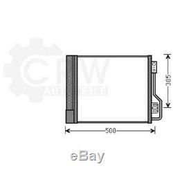Condensateur Climatisation Condenseur à Air Smart Fortwo Coupé Cabriolet