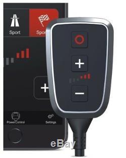 DTE Pedal Box Plus avec Appsteuerung pour Smart Fortwo Cabriolet 453 2015- 71PS