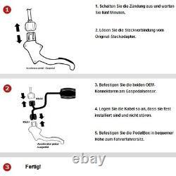 Dte Pedal Box Plus Avec Appsteuerung Pour Smart Fortwo Cabrio 451 2007- 54PS