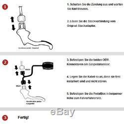 Dte Système Pedal Box 3S pour Smart Crossblade 450 2002-2004 0.6l R3 52KW Gasped