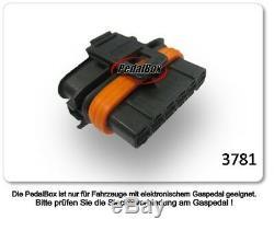 Dte Système Pedal Box 3S pour Smart Fortwo 451 Ab 2007 0.6l R3 45KW Accélérateur