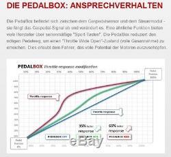 Dte système Pedal Box 3 S pour Smart Fortwo 450 1998-2007 0.6L R3 40KW