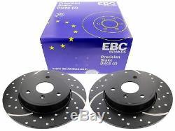 EBC pour Smart 450 Fortwo Cabriolet Turbogroove Disques de Frein Avant