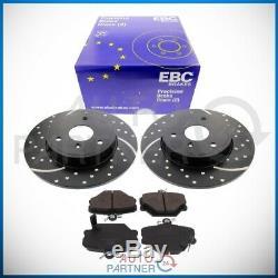 EBC pour Smart 451 Fortwo Cabrio VA Turbo Groove Sportbremse Disques Revêtements