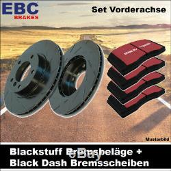 Frein EBC Kit de Essieu avant Blackstuff Plaquette Noir Tiret Essuie-Glace 20989