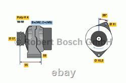 Générateur Bosch 0 986 049 111 (Incl. Dépôt)