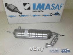Imasaf ESD Silencieux Pour SMART Fortwo Coupé + Cabriolet (451) 1.0 2007