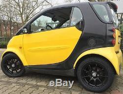 JANTES en Alliage Noir Smart Fortwo 450 DBV Bali 15´ ´ Noir Mat