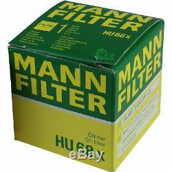 Liqui Moly 5L 5W-40 Huile Moteur + Mann-Filter Smart Fortwo Cabrio 451 0.8 CDI