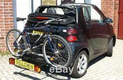Paulchen Porte-Vélos Première Classe Pour Smart Fortwo 451 Cabriolet