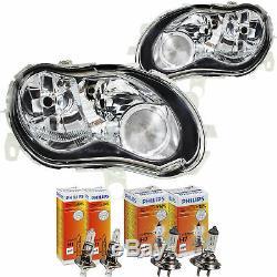 Phare Halogène Kit Mcc Smart (MC01) 03 / 02-01/04 H7/H1 avec Moteur 1368849