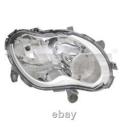 Phare avant Set H1/H7 Pour Smart Fortwo Coupé 450 Ville Cabriolet Incl. Lampes