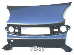 Plaque Pare-Chocs Avanti Centrale pour Smart Fortwo 2002 au 2007 Cabriolet 1999