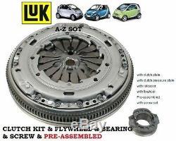 Pour Smart Cabriolet Ville Fortwo 0.8 Cdi Diesel 41bhp Kit D'em Brayage &