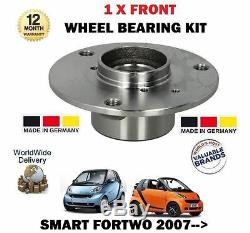Pour Smart Fortwo 451 Coupé + Cabriolet 2007 Neuf 1 X Kit Roulement Roue Avant