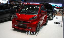 SMART Fortwo Brabus Ultimate 120 Cabriolet Rouge Minichamps 1/43