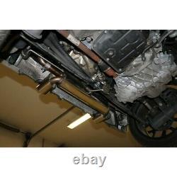 Smart Fortwo 453 Brabus Coupé Et Cabriolet Duplex Sportauspuffje 1x100mm De Fox