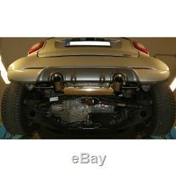 Smart Fortwo 453 Brabus Coupé Et Cabriolet Duplex Sportauspuffje 1x90mm De Fox