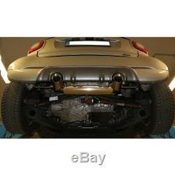 Smart Fortwo 453 Brabus Coupé et Cabriolet Duplex Sportauspuffje 1x100mm Von Fox
