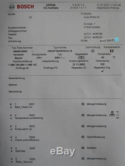 Smart Fortwo Cabrio 450 Bosch Pompe Haute-Pression 0445010025