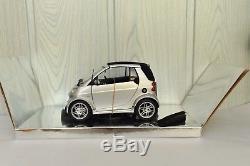 Smart Fortwo Cabrio Brabus Silver Kyosho 0017769 Comme Neuve