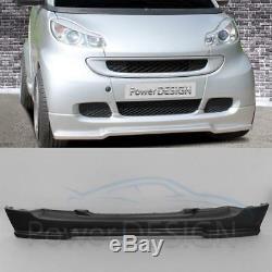 Spoiler de pare-chocs avant+arrière SMART Fortwo 451 Coupé/Cabrio Plastique ABS