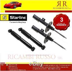Starline amortisseurs avant et arrière SMART 452 ROADSTER COUPE 0.7 KW60