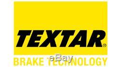 TEXTAR Essieu Avant Disques de Frein + Plaquettes Pour Smart Fortwo Cabriolet