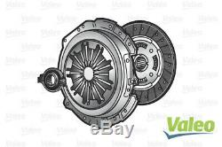 Valeo 3-PC Kit Embrayage pour Smart Fortwo Cabriolet 1.0 Turbo 2007- Sur