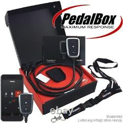 Villes Système Pedal Box Plus Avec App Porte-Clés pour Smart Crossblade Fortwo R